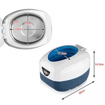 floureon ultrasonic cleaner ultraschall reinigunsger t. Black Bedroom Furniture Sets. Home Design Ideas