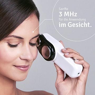 Gesichtsmassage mit Ultraschall