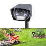 Gardigo Tiervertreiber mit Stroboskop-LED und Ultraschall