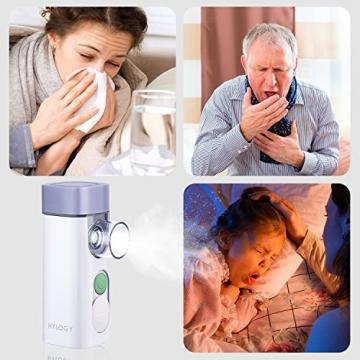 Gutes inhalieren mit Ultraschall