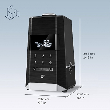 Feiner Vernebler mit Ultraschall von TaoTronics