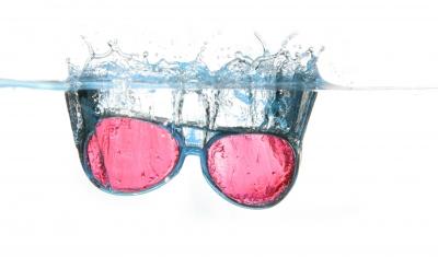 Brillen Reinigen mit Ultraschall