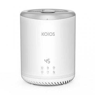 Koios 4L Ultraschall-Luftbefeuchter mit 3  Nebel Einstellungen - Ultra-leise